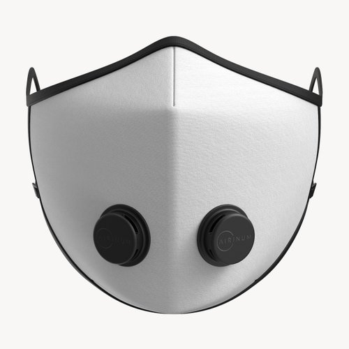 Urban Breathing Mask Solid White