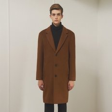 [SSG혜택가][클리프]LOOSE FIT SINGLE WOOL COAT _ GINGER BROWN
