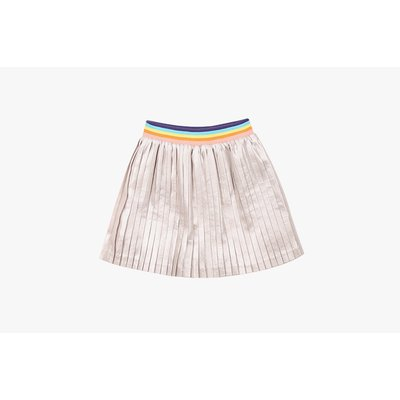 [40% SALE] Metallic pleats skirt