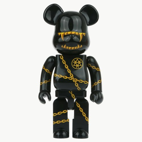 400% BEARBRICK MISHKA x LONG