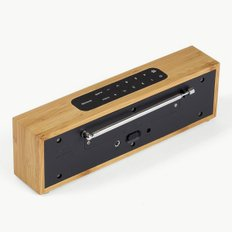 TITAN LED CLOCK RADIO 밤부 블랙