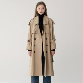 [SEC BY RIGOON]Oversize Trench Coat