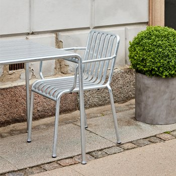 [주문 후 3개월 소요] Palissade Arm Chair Hot Galvanized