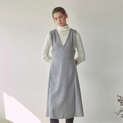 A-LINE SLEEVELESS OPS_GRAY (1996588)
