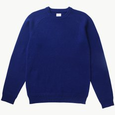 CREW NECK KNIT BLUE