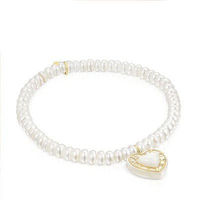 [최초출시가 269,000원]Gold bracelet and cultured pearls Valentine/팔찌/115301030