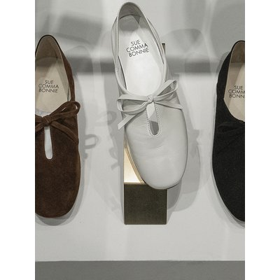 Babouche flat loafer(white) DG1DX19012WHT
