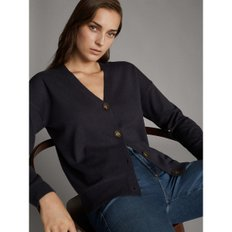 V-NECK WOOL CARDIGAN WITH BUTTONS 05650641818