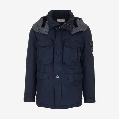 STONE ISLAND 스톤 아일랜드 DAVID TC PRIMALOFT PADDED JACKET NAVY 711541249 V0020