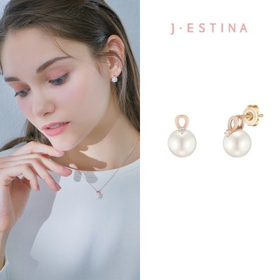 BASIC PERLINA 14K 귀걸이 (JJP1EF1BS182R4000)