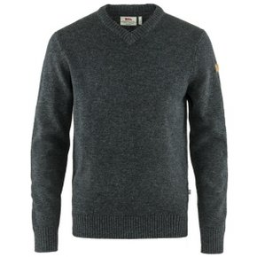 오빅 브이넥 스웨터 Ovik V-Neck Sweater M - Dark Grey