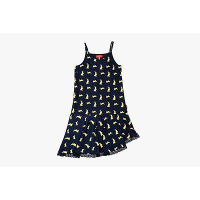 [40% SALE] Multi rabbit slip dress