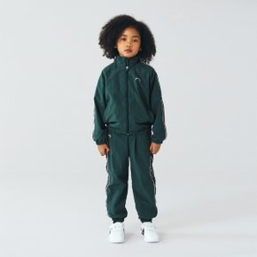 [골스튜디오] [KIDS] SMALL LOGO TRACK JACKET - DARK GREEN (키즈)