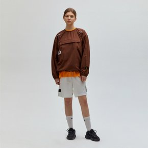 [골스튜디오] SSFC PULLOVER WINDSHIRT - BROWN