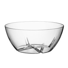Bruk bowl large 브룩 보울 clear, Ø 24 cm