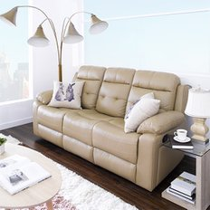 S-1915-3475 Leather Recliner Sofa 리클라이너 소파