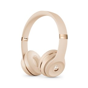 Beats Solo3 Wireless 헤드폰 - Beats Icon Collection - 새틴 골드(MX462PA/A)
