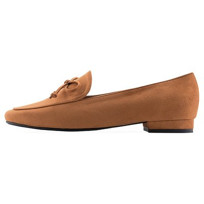 로퍼 OF7009 Classic bow loafer 카멜