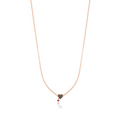 [최초출시가 139,000원]Rose Vermeil Silver Motif Necklace/목걸이/314932510