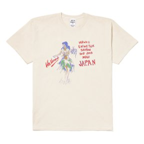 HAWAIIW T-SHIRT ECRU