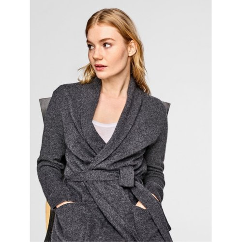 W+W Long Cashmere Robe