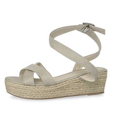 kami et muse Ankle strap espadrille wedge sandals_KM19s266