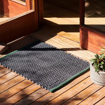Door Mat Green