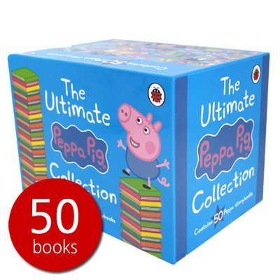 페파피그 The Ultimate Peppa Pig 50 Books Set