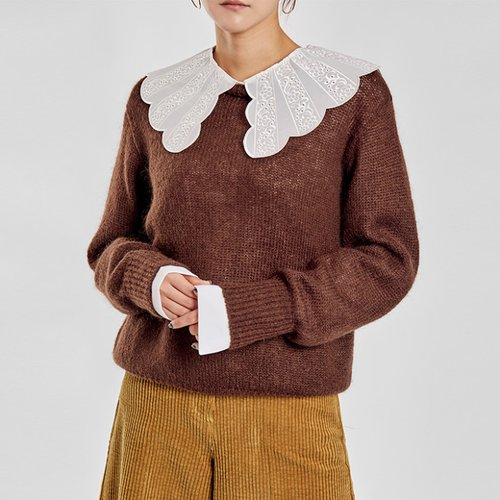 / cozy mohair knit
