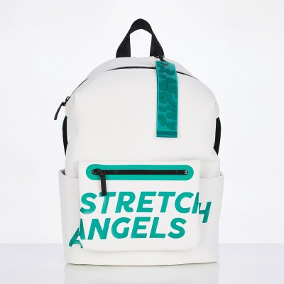 스트레치엔젤스[S.P.U] Pocket pouch backpack L (White)