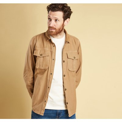 덱 포켓 오버셔츠 샌드 (Barbour Deck Overshirt) BAH2MOS0034SN32