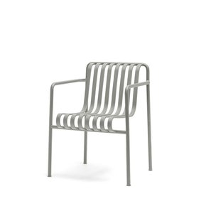 Palissade Dining Arm Chair Sky Grey