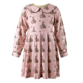 Bunny Flannel Dress