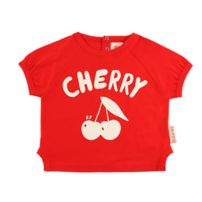 Cherry baby short sleeve ringer tee BP9222161