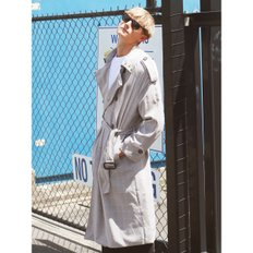 OVERFIT CHECK TRENCH COAT_M