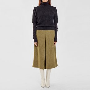 / alpaca half sleeve knit top(4 colors)