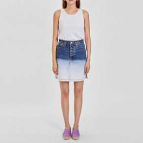 / gradation denim skirt(1 color)