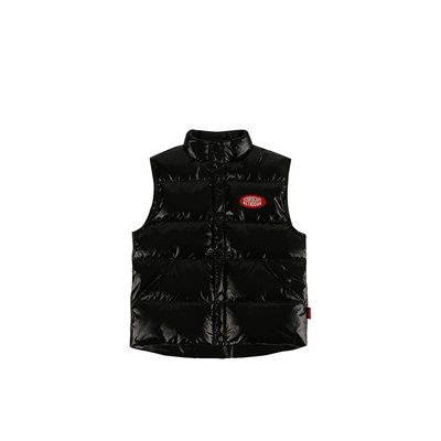 [20% SALE] Icebiscuit big logo puffy down vest
