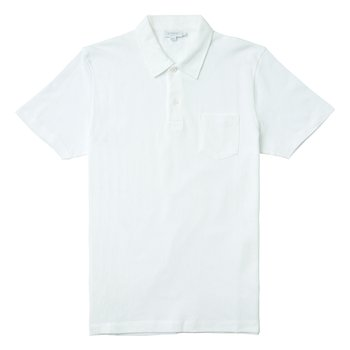 COTTON RIVIERA POLO SHIRT WHITE