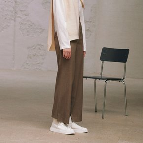 Eddie Slim Fit Pants_Beige