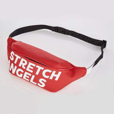스트레치엔젤스[S.P.U] Wide fanny bag (Red)