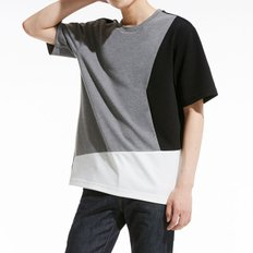 [PLAC]Colorblock T-shirt_GY (PWOE2RSLH5M0C3)