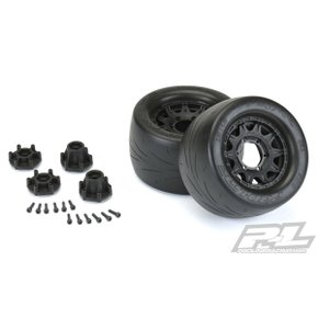 "[Pro-Line Racing]AP10116-10 Prime 2.8"" Street Tires Mounted"