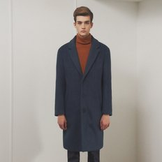 [SSG혜택가][클리프]LOOSE FIT SINGLE WOOL COAT _ DEEP BLUE
