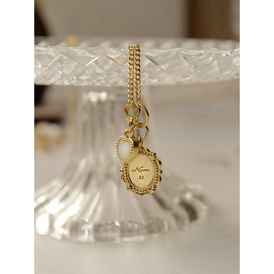 Alice Day Necklace(Gold/White)