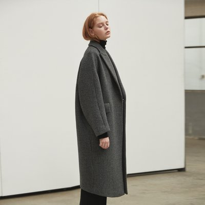 Tailored volume coat [CHA]