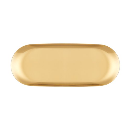 TRAY LARGE GOLD
