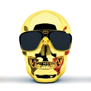 Jarre AeroSkull XS - CHROME GOLD