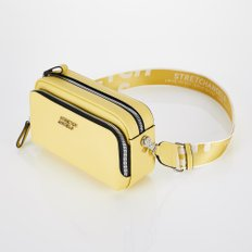 [파니니백]PANINI metal logo solid bag (Yellow)