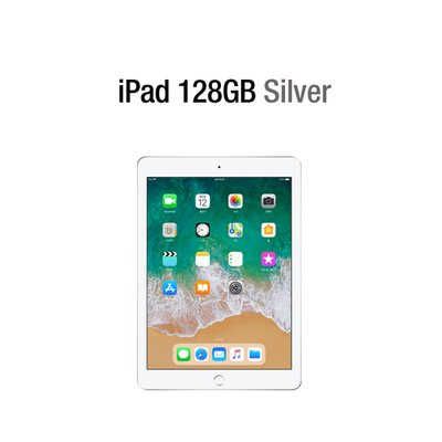 [Apple] 애플 아이패드 Wi-Fi 128GB 실버 iPad Silver MR7K2KH/A
